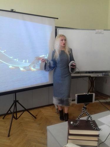 Вы знаете, почему мы это не делаем, The Fourth Industrial Revolution and Its Hidden Side Наталія Юдіна Наталия Юдина, Лауреат Премии Президента Украины для молодых ученых Футуролог Futurolog